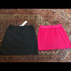 Adidas golf skort bundle